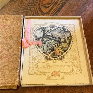 Vintage Victorian Greeting Card Collectible NOS